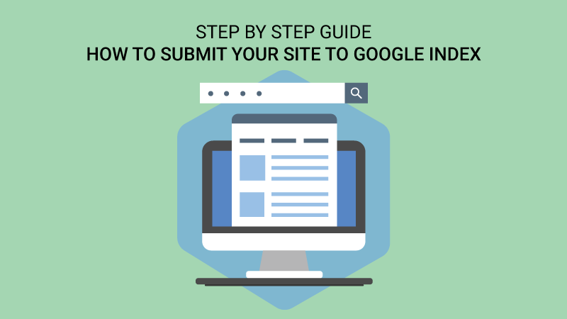 how to submit website to google index